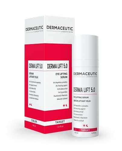 Dermaceutic Derma Lift 5.0 – Siero effetto lifting – Lifting istantaneo viso e contorno occhi – Siero viso anti-età – 30 ml