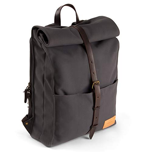 Property of...Alex Rucksack 24h Stone Blue Dark Brown