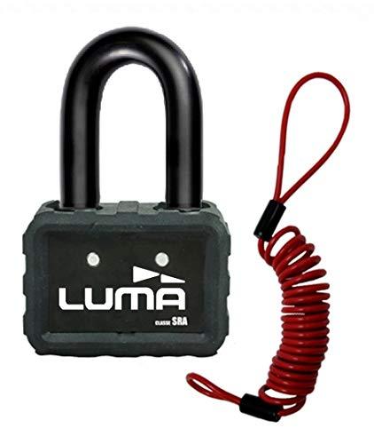 LUMA - Candado Antirrobo para Discos de Freno LUMA Solido D18 + Cable Antiolvido de Regalo