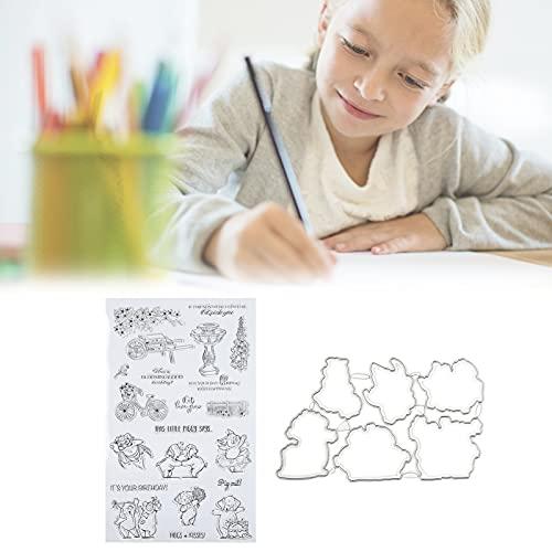 Kaarten maken Decoratie, met de hand Account maken Zegel Scrapbooking Stempel Handgemaakt Multifunctioneel TPR-materiaal Herhaalbaarheid voor papierambachten of handgemaakte geschenken