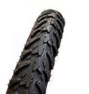 1 x Bicycle Tyre (Black) Size : 18 x 2.10 (Etrto : 56-355) Found mainly on Smaller Kids Bikes Easy rolling street style tread pattern Quality Rubber with High Puncture Resistance