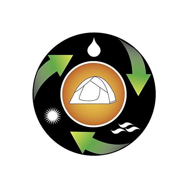 Coleman Weatherproof Instant Tourer Unisex Outdoor Dome Tent 9