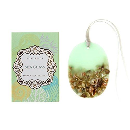 ロージーリングス プティボタニカルサシェ シーグラス ROSY RINGS Petite Oval Botanical Wax Sachet Sea G...