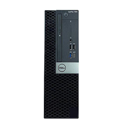 Dell Optiplex 7060 SFF Desktop - Processore Intel Core i7-8700 6-Core fino a 4,60 GHz, 16 GB di memoria DDR4, 512 GB Solid State Drive, Intel UHD Graphics 630, masterizzatore DVD, Win10 Pro (64 bit)
