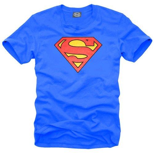 Coole Fun T-Shirts Superman T-shirt Homme M