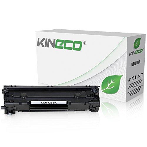 Toner kompatibel mit Canon 725 für Canon I-sensy LBP-6000, LBP-6020, LBP-6030, MF-3010-3484B002 - Schwarz 2.100 Seiten