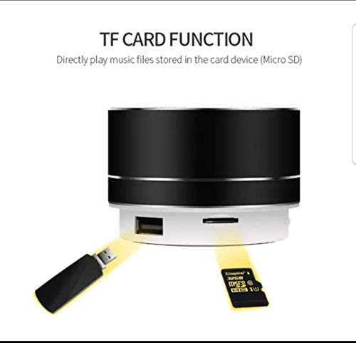 Portable Bluetooth Wireless Speaker Great for Travel 6