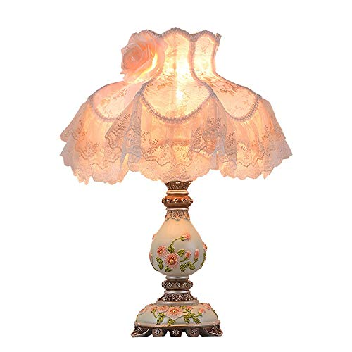FHUA Lámpara Escritorio Lámpara de Mesa de lámpara, lámpara de mesita de Noche, lámpara de mesita de Noche decoración cálida, lámpara de Mesa Grande, lámpara de Mesa ecológica