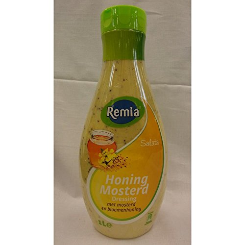 Remia Salata Honing Mosterd Dressing 1000ml Flasche (Honig-Senf-Dressing)