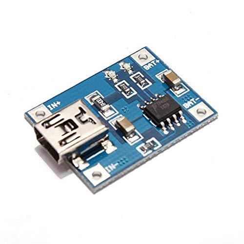 IGOSAIT Módulo de módulo de alta eficiencia del cargador de la placa de carga de la batería de litio del interfaz USB Mini 1A