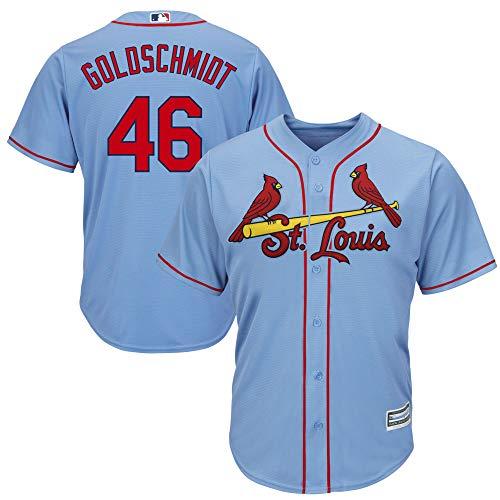 Paul Goldschmidt St Louis Cardinals Light Blue Infants Toddler Cool Base Alternate Player Jersey (4T)