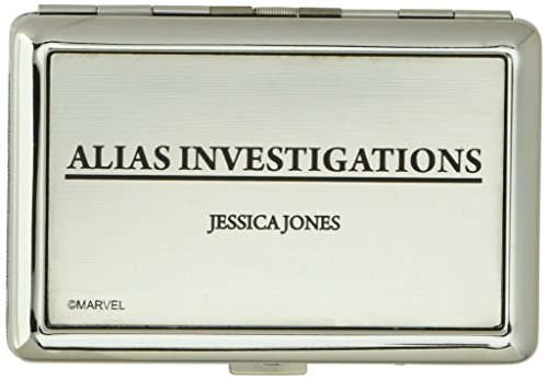 Buckle-Down Unisex-Adult's Business Card Holder-Jessica Jones, Multicolor, 3.7' x 2.5'