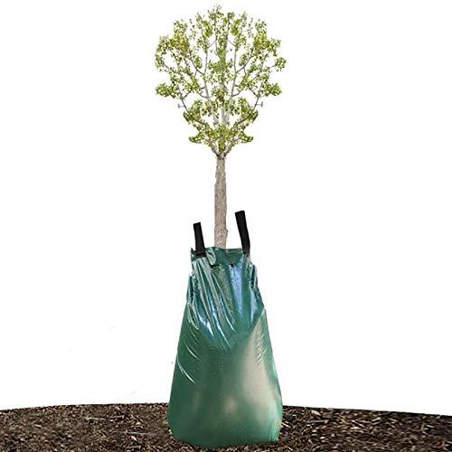 Preisvergleich Produktbild wavraging Baumbewässerungsbeutel, 1pc 20 Gallonen Gießbeutel mit langsamer Freigabe für Bäume,  Baumbewässerungsbeutel aus haltbarem PVC-Material mit Reißverschluss (Freigabezeit 5-8 Stunden)
