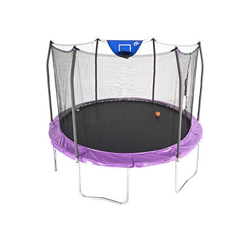 Skywalker Trampolines 12-Foot Jump N' Dunk Trampoline with Enclosure...