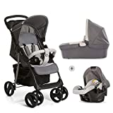 Hauck Shopper SLX Trio Set Trio Passeggino 3 in 1, Ovetto, Navicella con...