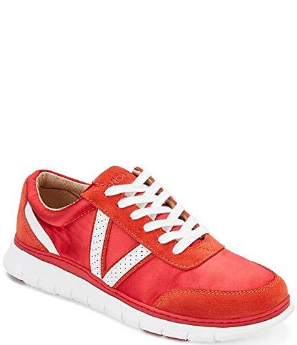 [バイオニック] シューズ 25.5 cm スニーカー Nana Satin Leather Lace-Up Sneakers Cherry レディース [並行輸入品]