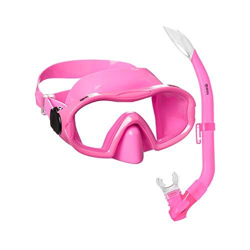 Mares Blenny Junior Maske und Schnorchel-Set, verschiedene Farben erhältlich, Rosa