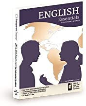 Essentials English Learning Program for Indonesian Speakers Software and MP3 Audio for Win and Mac