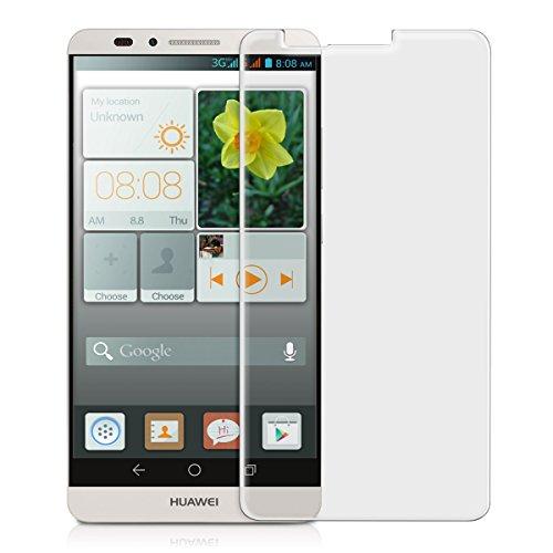 kwmobile Glas Folie matt kompatibel mit Huawei Ascend Mate 7 Schutzglas Bildschirmschutzfolie - Schutzfolie Bildschirmschutz