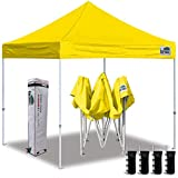 Eurmax 10'x10' Ez Pop Up Canopy Tent Commercial Instant...