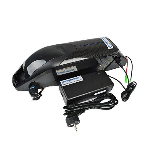 Pswpower EU - Batería eléctrica para bicicleta (36 V, 14,5 Ah, iones de litio, E, compatible con motores de 36 V 500 W, compatible con Samsung INR18650-29E) (PXL-HX-36145-SA)