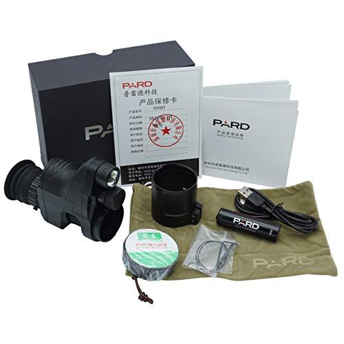 PARD NV007 Nachtsicht-Vorsatzgerät - BRD Version mit 16 mm Objektivlinse inkl. 45 mm Montageadapter