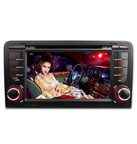 Freeauto - Reproductor de DVD para coche, pantalla de 17,7 cm, sistema operativo Quad Core, Android 7.1, función de espejo de pantalla y OBD2
