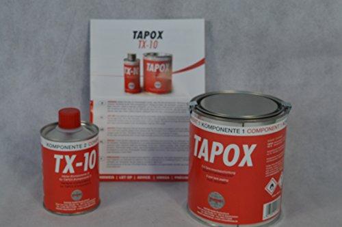 Preisvergleich Produktbild 1 SET FERTAN TAPOX 2-KOMPONENTEN EPOXY TANKVERSIEGELUNG;TANK;ROST;AUTO;MOTOR... Innenbeschichtung, Tankrestaurierung