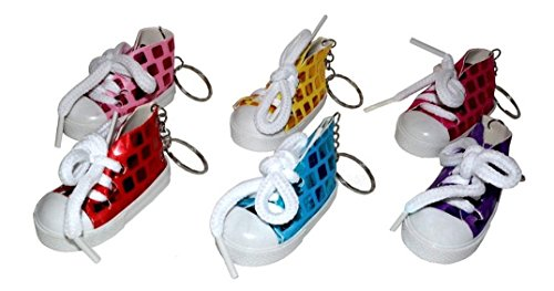 6 stk. Schlüsselanhänger Schlüsselring Schuh Turnschuh Sportschuh Sneaker Kult
