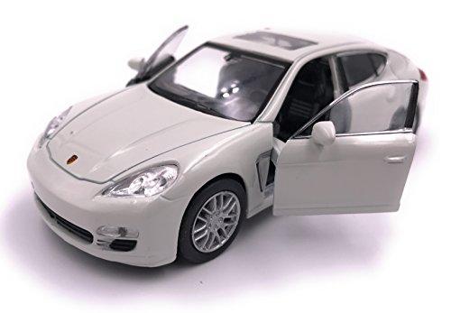 H-Customs Porsche Panamera S Modellauto Auto Lizenzprodukt 1:34-1:39 Weiß