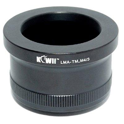 Kiwifotos Schnellwechselplatte Adapter: Ermöglicht T Mount Objektive (Teleskope, Mikroskope, Blasebalg-etc.) Für verwendet Werden auf jedem Micro Four Thirds System Körper