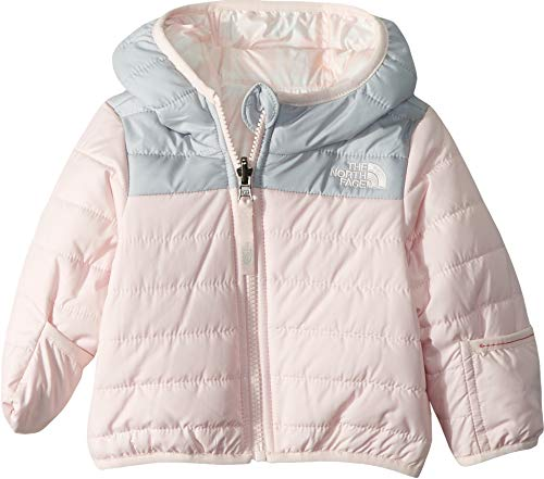 The North Face Chaqueta Perrito Reversible Infantil Rosa Purdy 3-6 Meses