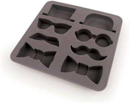 6-cavity Beard Ice Tray Ice Mold Flexible Silicone Mold Handmade DIY Mold