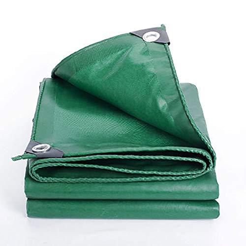 Dekzeil, waterdicht, zonwering, dik, stofdicht, voor buiten, schaduw, dak, camping, tuin, canvas, vloerbedekking 2mx3m groen