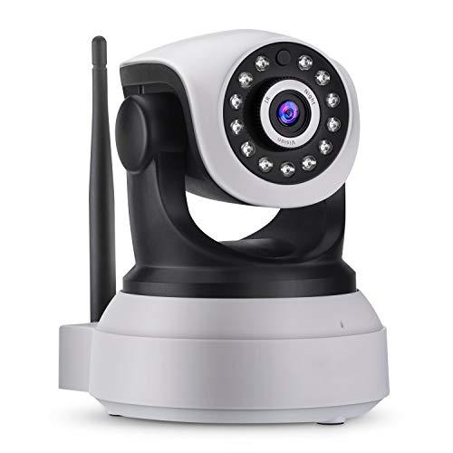 Kaper Go Compre La Cámara 1080P Inicio Seguridad Wi-Fi For El Hogar Inteligente Cámara CCTV Cubierta Con Visión Nocturna De HD Audio De Dos Vías De Detección De Movimiento De La Cámara Espía Inalámbri
