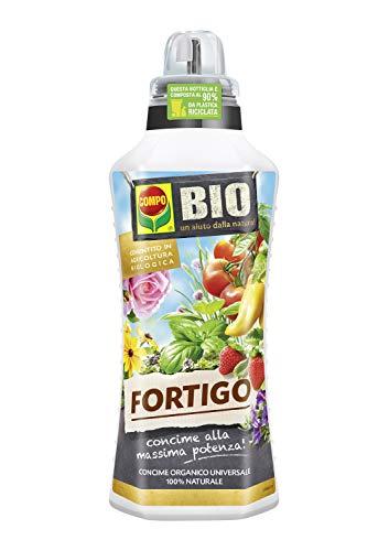 COMPO BIO FORTIGO Concime Organico Universale, Liquido, Per Orto e Giardino, Consentito in agricoltura biologica, 500 ml
