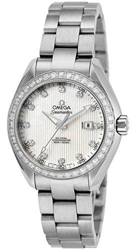 [オメガ] 腕時計 シーマスター アクアテラ ホワイトパール文字盤 コーアクシャル自動巻 231.15.34.20.55.001 並行輸入品 シルバー