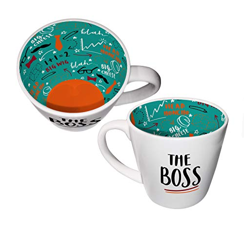 Inside Out Mug with Gift Box - The Boss