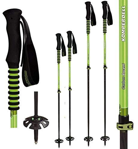 Komperdell C7 Titanal Carbon Skistock, Skitourenstock, Wanderstock Trekkingstock Gewicht 190g