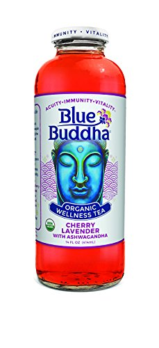 Blue Buddha Tea Cherry Lavender Organic, 14 oz
