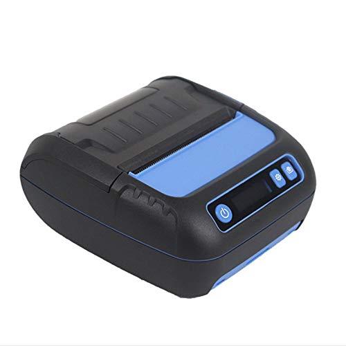 Étiquette Thermique Imprimante À Reçu Bluetooth, Étiquette Mobile Maker Sans Fil Pour Android Ios Avec 20-80Mm Largeur Réglable