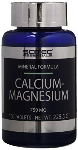 Scitec Nutrition Calcium - Magnesium, Minerale, 100 capsule