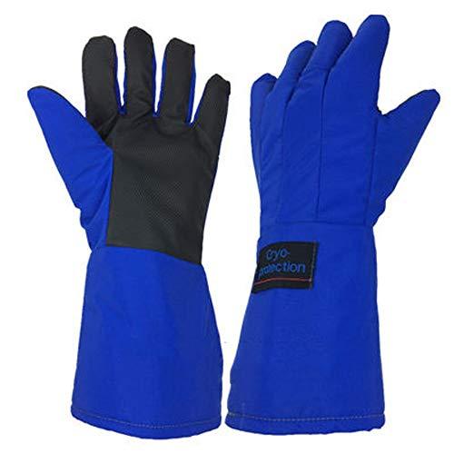 XJZxX Verschleißfeste Handschuhe für niedrige Temperaturen, Anti-Flüssig-Stickstoff-Handschuhe, Trockeneis, Kälteschutz, Handschuhe für niedrige Temperaturen, Industriehandschuhe
