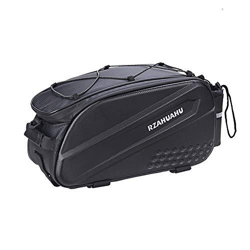 Gowind6 Bike Frame Bag,Bike Cycling Phone Holder Bag Bicycle Trunk Bag Mountain Bike Rear Rack Luggage Seat Carrier Pannier Pack