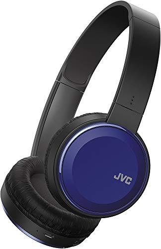 JVC Wireless Lightweight Flat Foldable On Ear Bluetooth Wireless Headband with Mic