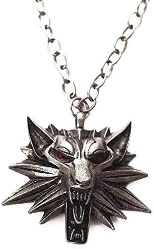 DGP Witcher relicario The Witcher 3 Wild Hunt Colgante Collar Colgante