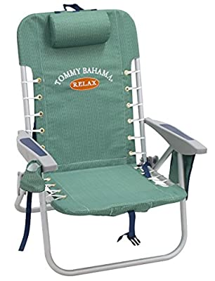 Tommy Bahama Lace Up Backpack Chair - Solid