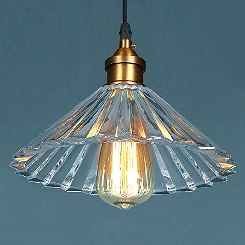 Plafondlamp met industrieel controlesysteem van kristalglas, strenge kwaliteit van transparant glas, lampenkap nostalgisch design prachtige plafondlamp incl.