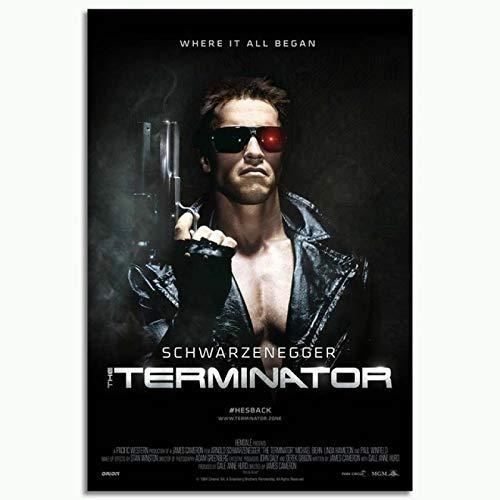 The Terminator Movie-1000 Piezas De Rompecabezas para Adultos, Juego De Rompecabezas De Cartón, Rompecabezas De Desafío Cerebral para Adultos, Familia, Buen Juego Educativo