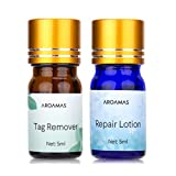 Aroamas Advanced Mole and Skin Tag Remover and Repair Lotion Set, for Professional Use Only (2)